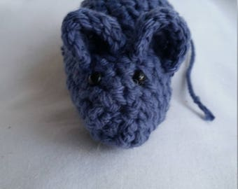 Crochet Catnip Mouse Toy