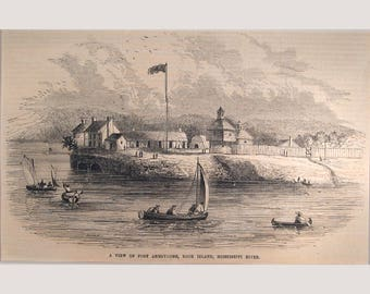 Rock Island – Illinois – Fort Armstrong - 1853