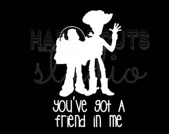 You've Got a Friend in Me Toy Story Woody Buzz Lightyear Matching Family Dad Son Vacation Disney World Iron On Vinyl Transfer 4 T Shirt 317