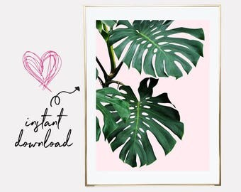 palm leaves print, palm leaf prints, palm leaf print, printable leaf palm, palm printable art, downloadable prints, palm print, printables