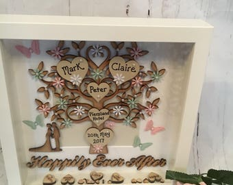 Beautiful Happily Ever After Wedding 'Tree of Love' Frame