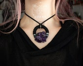 Giant Fighter Necklace (Amethyst) *Special Edition*