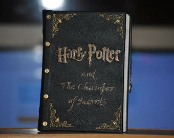 Harry Potter and The Chamber of Secrets J.K. Rowling Unique EDITION Leather