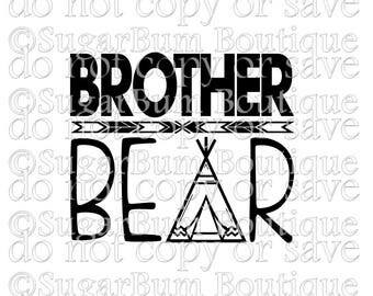 Brother Bear svg