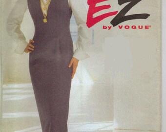 Vintage Uncut Cogue Ultra EZ Jumper and Blouse Pattern, sz 12-16, 8740