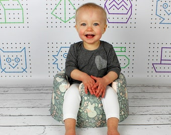 Bumbo seat cover, Handmade cover, Custom Bumbo seat, Choose your fabric, Fitted bumbo cover