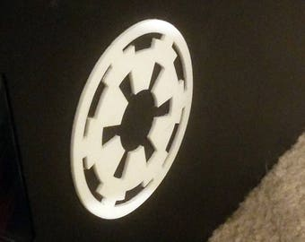 Imperial Logo 3D sticker