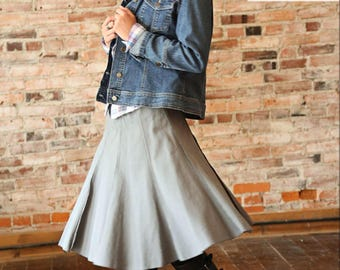 Modern Gored Skirt Pattern from Crossroads by Amy Barickman