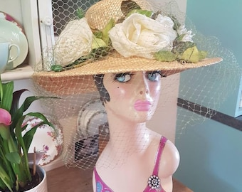 Madame Paulette hat designed  and made for  Harrods of London