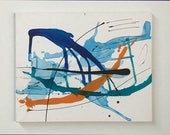 Modern Art Abstract Painting, Original Art, Affordable Art, Acrylic Painting, Abstract Painting, Contemporary Painting, Artist's Study