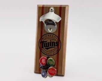 Minnesota Twins Magnetic Bottle Opener