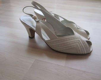 Vintage 80s Sandals of shoes shoes Georg Horsch Maître Chaussurier 37 new