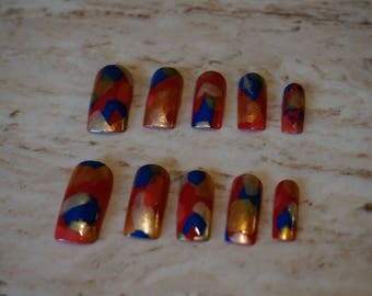 Cute Handmade Artificial Nails