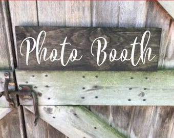 Photo Booth, Photo Booth Sign, Photo Booth Wood Sign, Wedding Photo Booth, Wedding Sign, Wedding Wood Sign, Wood Sign. Photo Sign