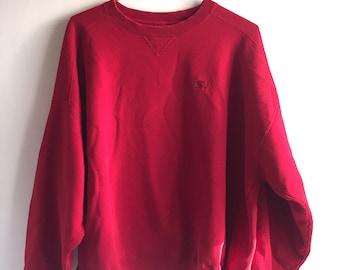 Starter vintage red XXL oversized sweatshirt