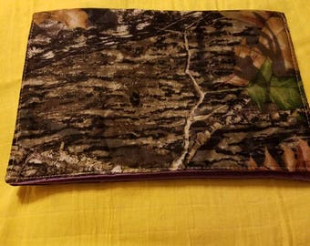 Mossy oak burp cloth (personlized)