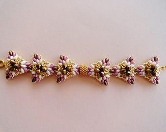 tutoriel pas à pas du bracelet Eva