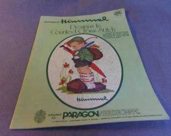 Counted Cross Stitch Patterns, Hummel  Paragon Vol. 1 Book 5073 1980