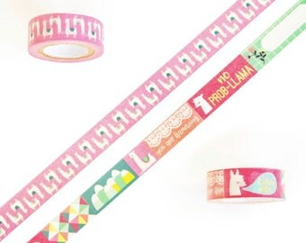 Llama Washi Tapes By Recollections™