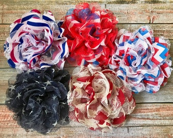 PICK 1 4th of July Hair Clip/4th of July Hair Bow/Fourth of July Hair Clip/Patriotic Hair Clip/July 4th/Child Hair Clip/Girls Hair Clip/Baby