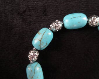 Tibetan style with turquoise Beads Bracelet