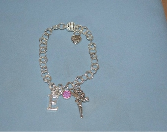 Emma's Choice - Little Girl's Personalized Chain Link Bracelet