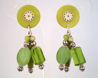 clips green Nina (made in France)