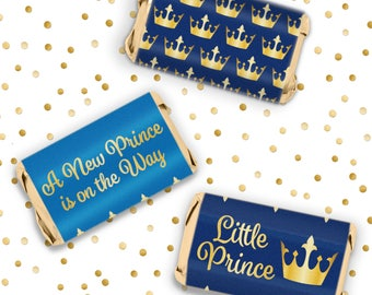 Little Prince Baby Shower Favors   Royal Crown Baby Shower Party Favors    Boy Baby Shower
