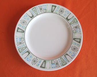 Mid Century Atomic TaylorStone Cathay Bread & Butter Plates