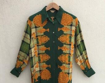 Vintage Elle Sport Classic Blouse Shirt
