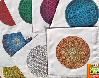 Crystal Grid Cloth