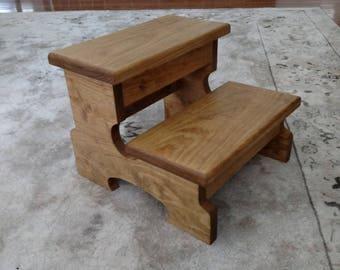 large step stool wood step stool kitchen step stool bathroom step stool