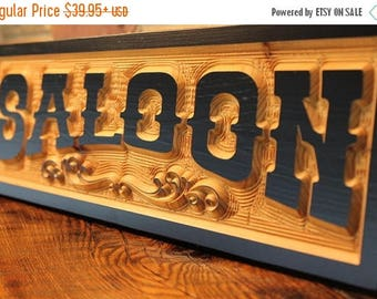 old west saloon sign, boyfriend gift, man cave sign, husband gift, rustic wooden sign, western wedding bar signs, reception sign, cowboy