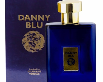 DANNY BLU Perfume Inspired By Versace Dylan Blue For Man 3.3 Fl Oz EDT Inspired by Versace Dylan Blue