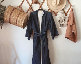Denim Cover Up / Robe