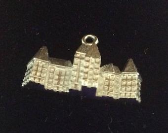 Sterling silver Banff springs hotel charm vintage # 1152