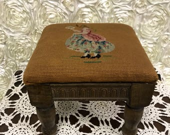 Foot Stool Foot Rest Small Tapestry