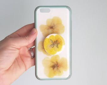 Floral Case and Button