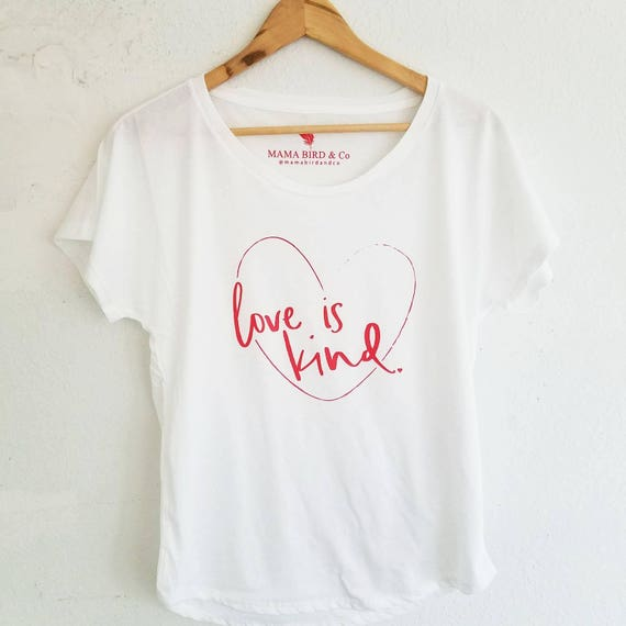 LOVE IS KIND Tee, Love is Kind Shirt, Valentine's Tee, Valentine's Love Shirt, Valentine Kind Tee, Kindness Shirts, Valentines Day Tshirt