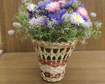 Dried flower arrangement, rustic wedding decor, floral arrangement, wedding centerpiece, home decor, natural decor,dried flowers,table décor