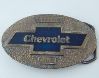 Chevrolet Belt Buckle RARE Chevrolet Century Club Belt Buckle by Koleaco Chevy Belt Buckle Chevy Collectible Car Belt Buckle Chevy Camarro
