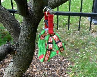 Poppies Step In unique, handmade dog harness