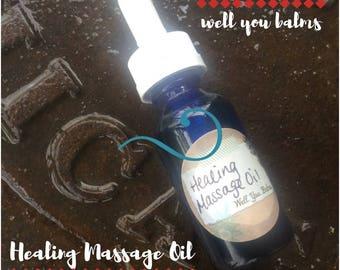 Healing Massage Oil