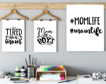 mothers day svg, Momlife, tired as a mother, mom of boys, mom svg, mom cutting files, mom quotes, mother quotes, mother cutting files,