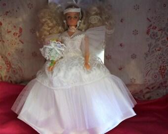 Le Bal De Sandrine, Poupee Mannequin Articulee 29 cm