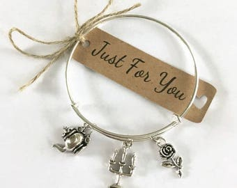 Beauty and the Beast Theme Bangle Gift