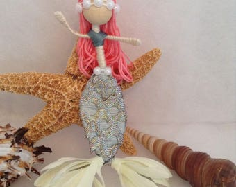 Mermaid bendable doll