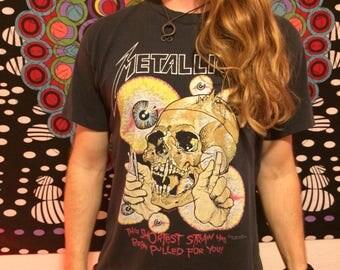 Vintage Original 1989 Metallica T-Shirt