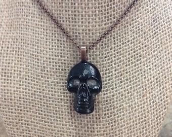 Skull, medium black