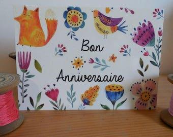 Good birthday postcard